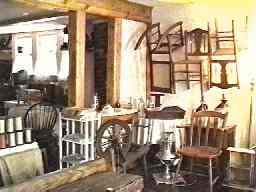 antiques shop interior